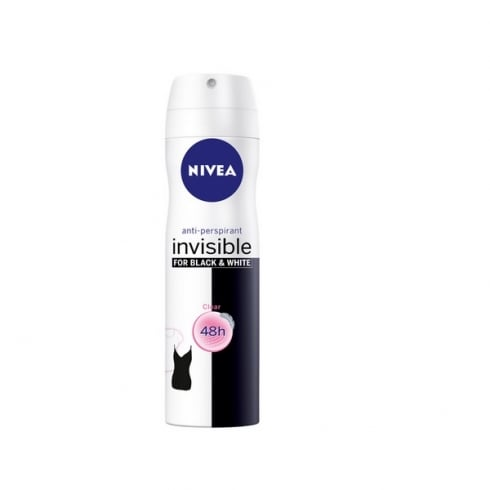Nivea Invisible For Black And White Clear Spray 200ml
