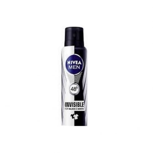 Nivea Men Invisible For Black And White Power Spray 200ml