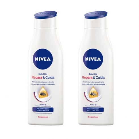 Nivea Repair And Care Body Milk 400ml Set 2 Pieces