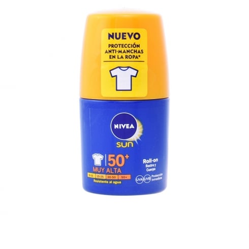 Nivea Sun Moisturizing Protector SPF50+ Roll-on 50ml