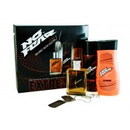 No Fear Extreme Gift Set 100ml EDT + 250ml Shower Gel + 200ml Body Spray + Dog Tag