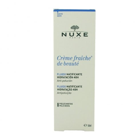 Nuxe Cream Fraiche 48H Moist Matifying Fluid