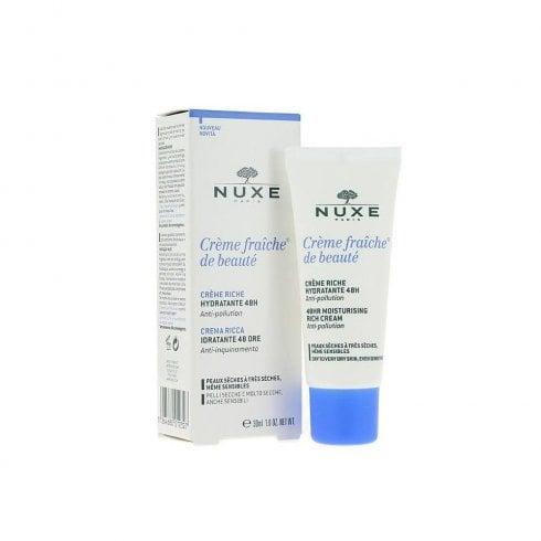 Nuxe Cream Fraiche Nourish 48H Moist Cream 30ml
