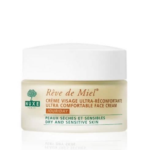 Nuxe Rêve De Miel Ultra Comfortable Face Cream Dry and Sensitive Skin 50ml