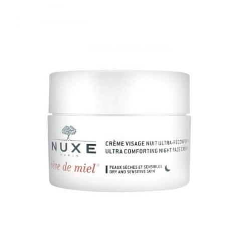 Nuxe Rêve De Miel Ultra Comfortable Night Face Cream 50ml