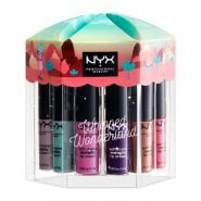 Nyx Whipped Wonderland Soft Matte Metalic Lip Cream Vault 12 X 4.7