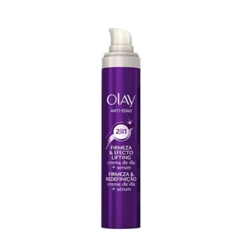 Olay Anti Wrinkle Firm And Lift 2 In 1 Day Cream  Serum 50ml