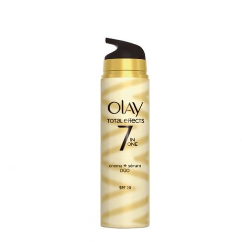 Olay Total Effects Moisturiser And Serum Duo 40ml