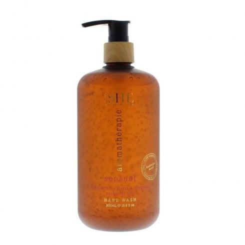 Om She Aromatherapie Hand Wash Sensual Sandalwood Vanilla And