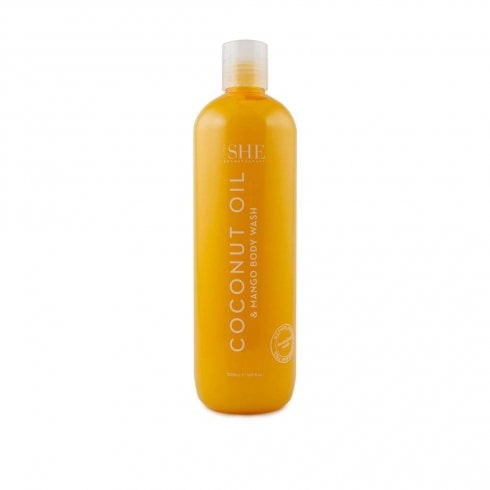 Om She Coconut Oil Body Wash Coconut & Lime 500ml