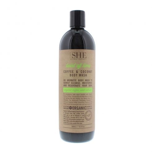 Om She Coffee & Coconut Hand Wash Twist Of Lime 500ml