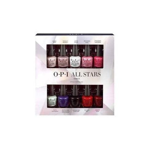 OPI All Stars Gift Set 10 x 3.75ml Nail Lacquer