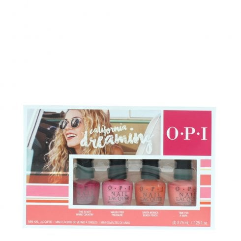 OPI California Dreaming Nail Polishset 4 X 3.75ml
