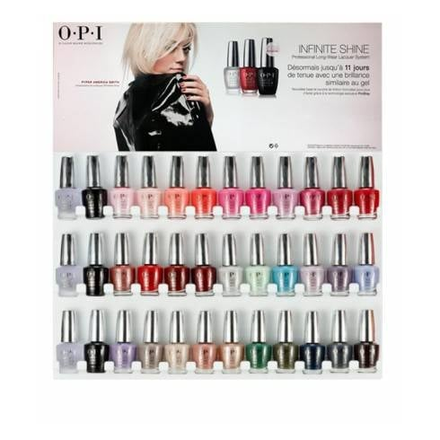 OPI OPI INFINITE SHINE 36PCS DISPLAY  ISD06