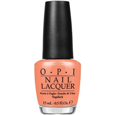 OPI Is Mai Tai Crooked? Nlh68 15ml
