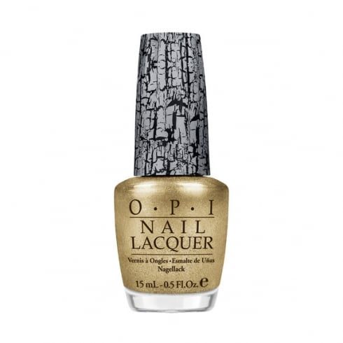OPI Nail Lacquer 15ml - Gold Shatter