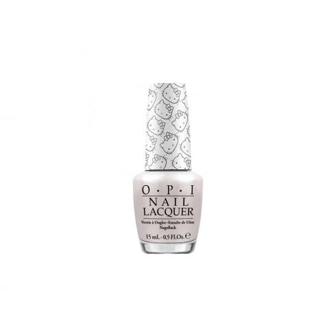 OPI Nail Lacquer 15ml - Kitty White