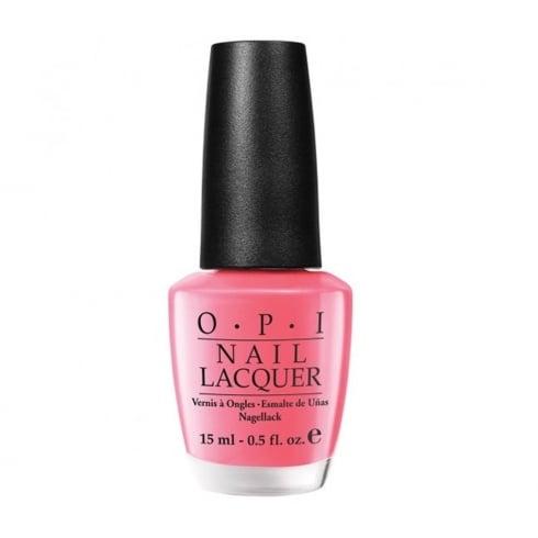 OPI Nail Lacquer 15ml - Not So Bora Bora Ing Pink