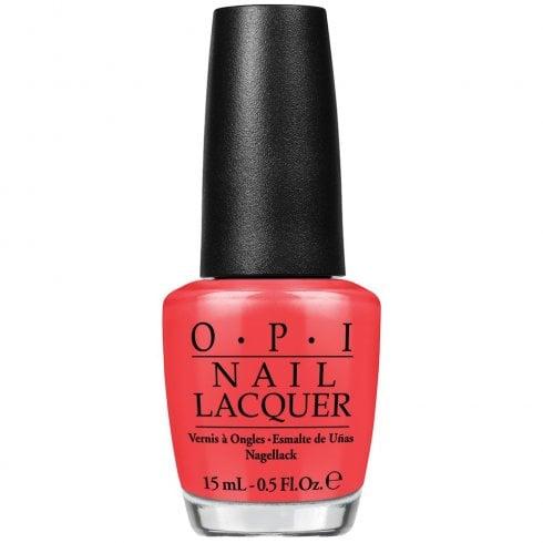OPI Nail Lacquer Nlr69 SPF Xxx Orange Red 15ml
