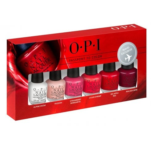OPI Passport To Color 6X 3.75ml Travel Exclusive