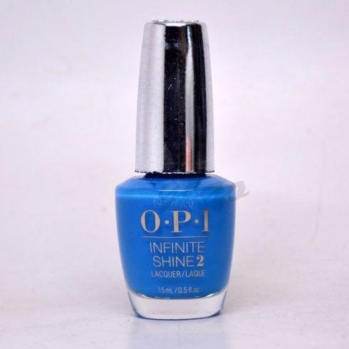 OPI Wild Blue Yonder Isl41 15ml Infinite Shine Nail Polish
