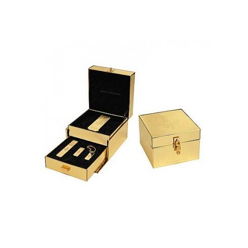 Paco Rabanne 1 Million 100ml EDT Spray / 10ml Travel Spray / 5ml Mini / Gold Ingot Key Ring