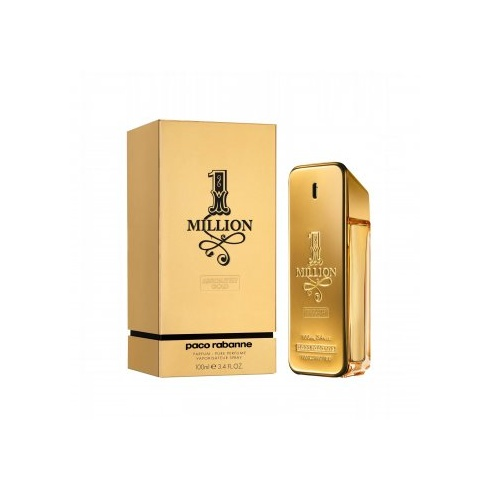Paco Rabanne 1 Million Absolutely Gold 100ml Pure Perfume Spray