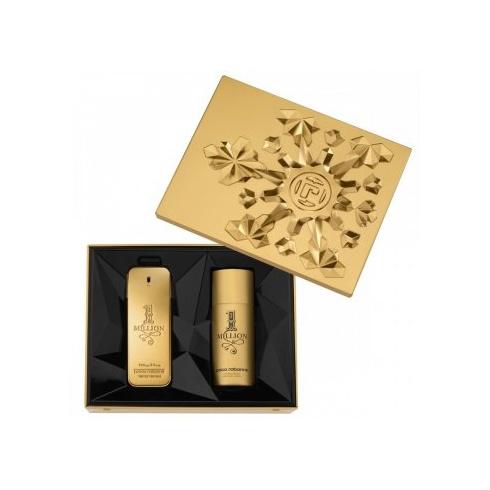 Paco Rabanne 1 Million Gift Set 100ml EDT Spray + 150ml Deodorant