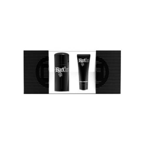 Paco Rabanne Black XS Men 100ml EDT Spray / 100ml Shower Gel