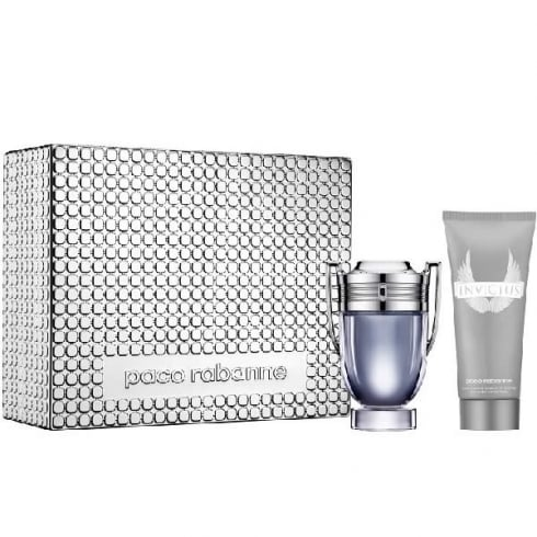 Paco Rabanne Invictus EDT Spray 100ml Set 2 Pieces 2017