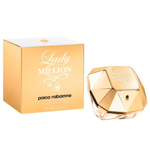 Paco Rabanne Lady Million 80ml EDT Spray