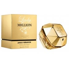 Paco Rabanne Lady Million Absolutely Gold 80ml Pure Perfume Spray