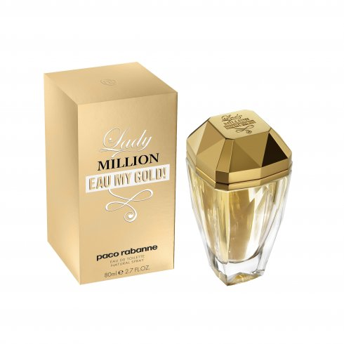 Paco Rabanne Lady Million Eau My Gold 50ml EDT Spray