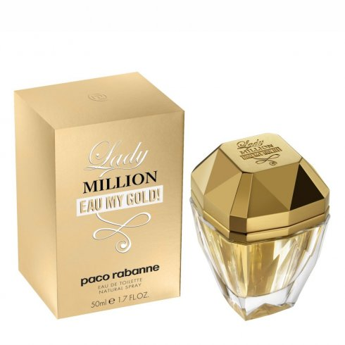 Paco Rabanne Lady Million Eau My Gold 80ml EDT Spray