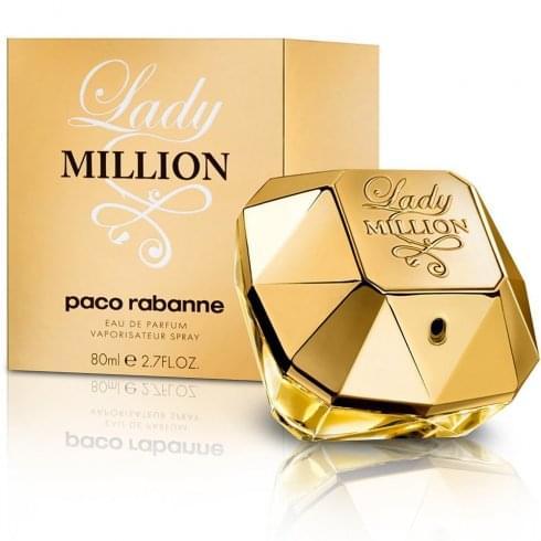 Paco Rabanne Lady Million Gift Set 50ml EDP + 75ml Body Lotion + 5ml Mini