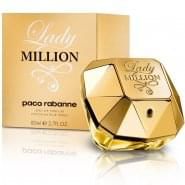 Paco Rabanne Lady Million Gift Set 50ml EDP + 75ml Body Lotion + 5ml Mini