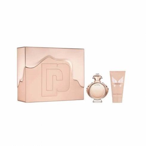 Paco Rabanne Olympea Gift Set 50ml EDP + 6ml EDP + 75ml Body Lotion