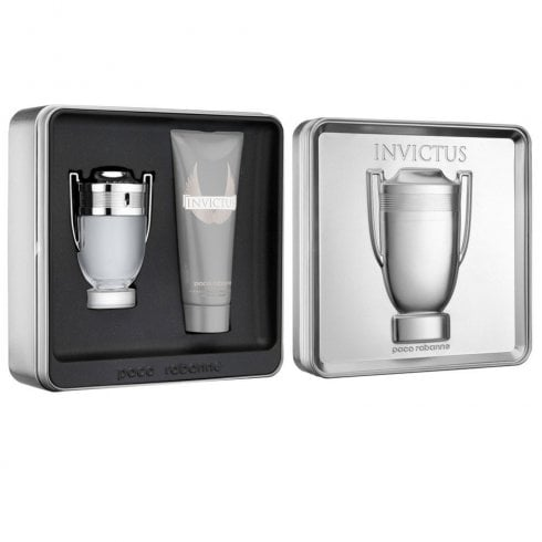 Paco Rabanne Paco Invictus EDT 50ml & All Over Shampoo 100ml