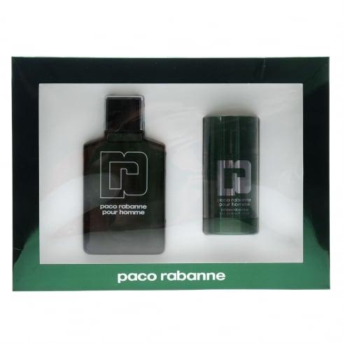 Paco Rabanne Pour Homme Gift Set 100ml EDT + 75ml Deodorant Stick