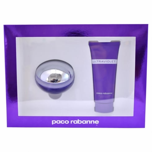 Paco Rabanne Ultraviolet Gift Set 80ml EDP + 100ml Body Lotion