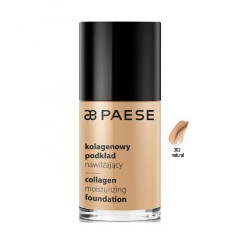 Paes Cosmetics Paese Collagen Moisturizing Foundation 302 Natural