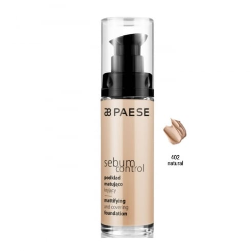 Paes Cosmetics Paese Sebum Control Mattifying And Covering Foundation 402 Natural