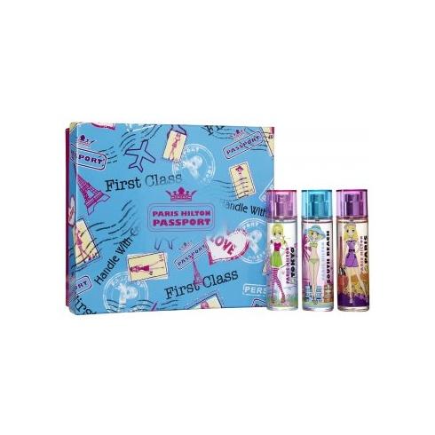 Paris Hilton Passport Gift Set 30ml EDT - Tokyo + Paris + South Beach