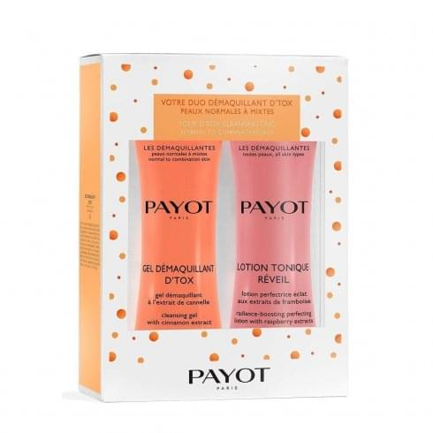 Payot Les Démaquillantes Duo Gift Set 200ml D'tox Cleansing Gel + 200ml Toning Lotion
