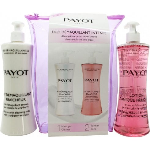 Payot Les Démaquillantes Duo Gift Set 400ml Cleansing Milk + 400ml Toning Lotion