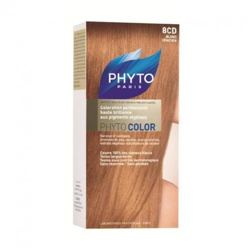 Phyto Color Permanent Hair Colour - 8CD Strawberry Blonde