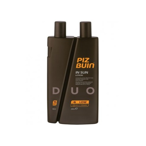 Piz Buin In Sun Lotion SPF 6 (Low) 200ml / SPF 15 (Medium) 100ml