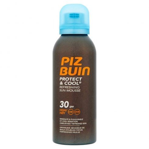 Piz Buin Protect & Cool Refreshing Sun Mousse SPF30 150ml