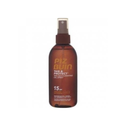 Piz Buin Tan & Protect Accelerating Oil Spray SPF 15 (Medium) 150ml