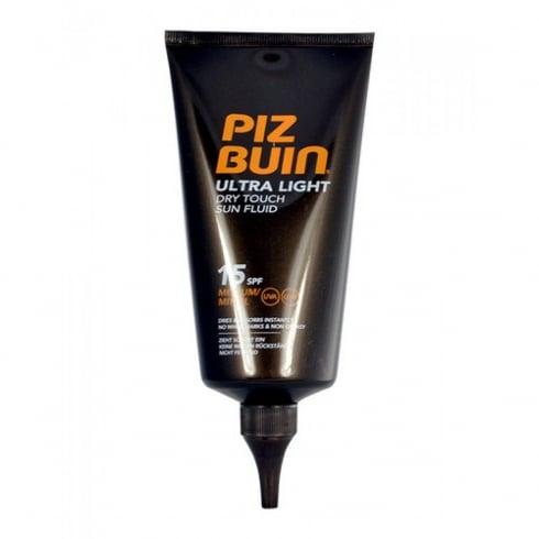 Piz Buin Ultra Light Dry Touch Sun Fluid 150ml SPF15